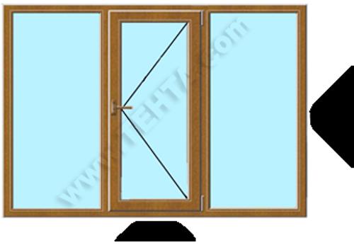 ПВЦ Дограма стандартен прозорец за панел pvc дограма Габрово